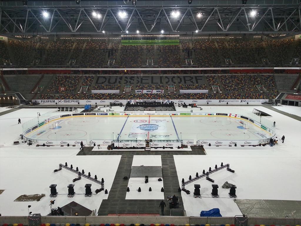 Bandenwerbung & Sportwerbung im Eishockey